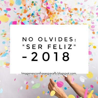 Que tengas un bonito 2018
