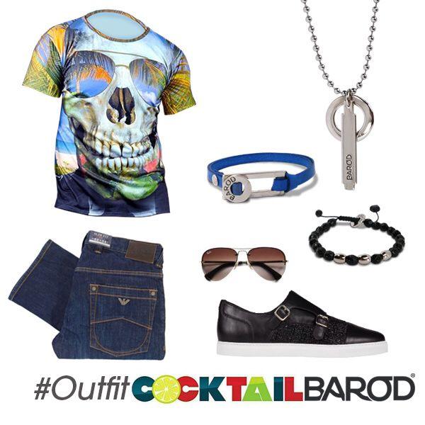 #Outfit parar este Viernes, que opinan de la franela Skull Caribe de @cocktailvzla a nosotros nos parece genial para hoy !!!
