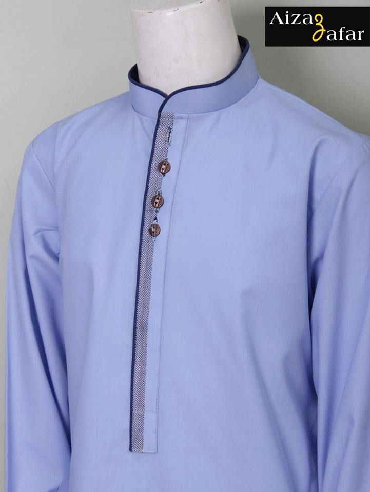 Aizaz Zafar Eid-Ul-Azha Wear Shalwar Kameez Dresses 2014 for Men (3)