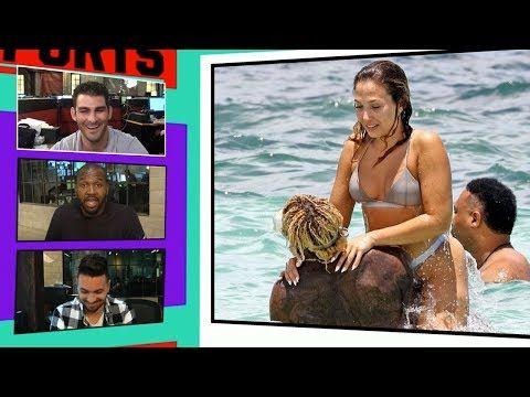 Odell Beckham Jr. Hits the Beach in Cancun with Girlfriend Polyxeni Ferfeli I TMZ Sports