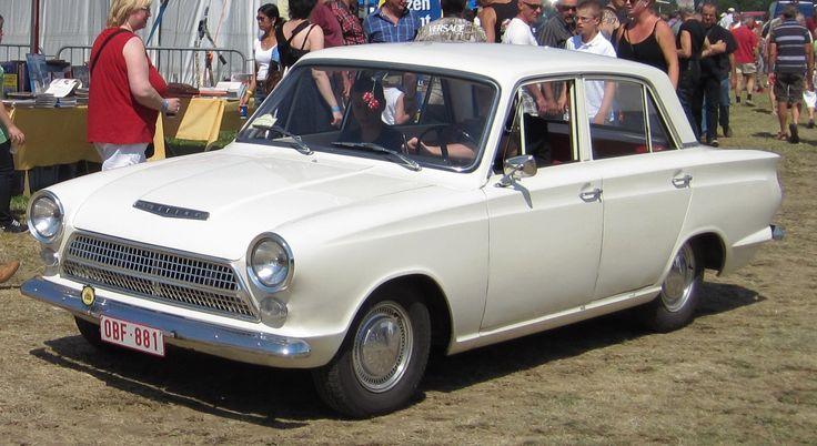 Ford Cortina Mk1 prefacelift 4 door