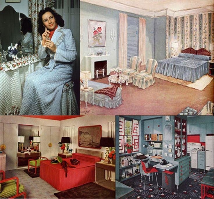 42 Best 1940s Home Decor Images On Pinterest