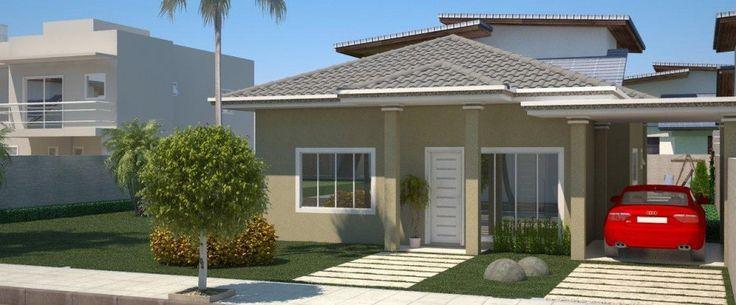 Decoração e Projetos – Plantas de casas com 4 quartos e varanda