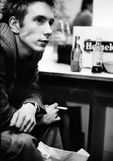 Johnny Rotten from Sex Pistols.