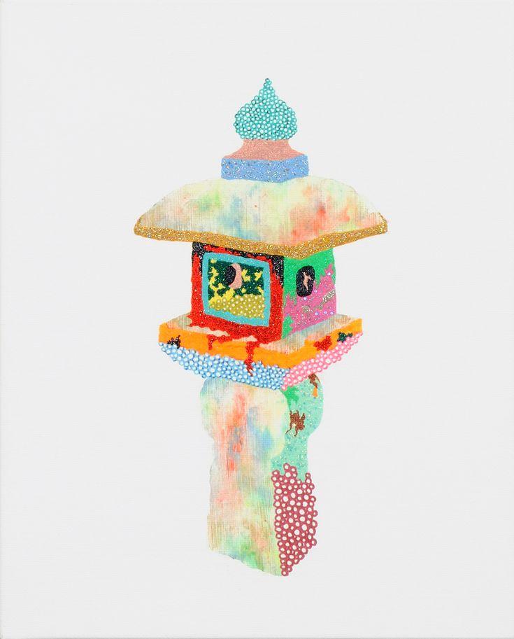 とうろう / Tomoaki TARUTANI #ART #Contemporary ART #POP ART #Mandala #曼荼羅