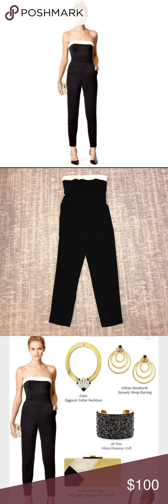 Trina Turk jumpsuit Trina Turk jumpsuit. Fully lined. Bustier top and 2 slash pockets at hip. Worn one time only. Excellent condition. Trina Turk Other