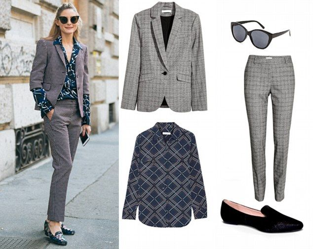 Olivia Palermo's most unexpected print pairings broken down to help create your own style   Daily Mail Online