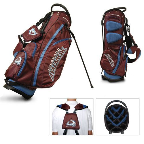 Team Golf Colorado Avalanche Fairway 14-Way Golf Stand Bag - Golf Equipment, Collegiate Golf Products at Academy Sports