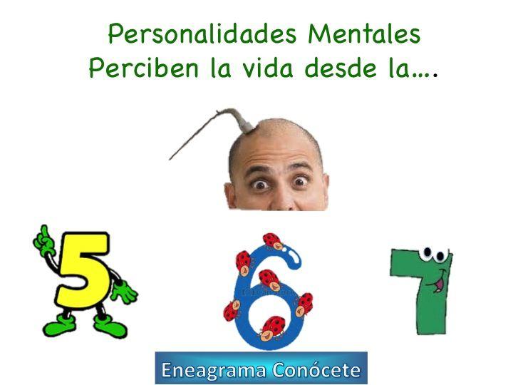 Triada Mental Personalidades: 5, 6 y 7 del Eneagrama