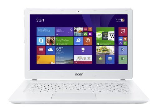 Acer Aspire V 13 V3-371-57JZ 13.3-Inch Laptop (Platinum White) - Acer Aspire V3-371-57JZ comes with these high level specs: 5th Generation Intel Core i5-5200U Processor 2.2GHz with Turbo Boost Technology up to 2.7GHz, Windows 8.1, 13.3″ HD Widescreen CineCrystal LED-backlit Display, Intel HD Graphics 5500, 8GB DDR3L Memory, 240GB SSD, Secure Digital... - http://ehowsuperstore.com/bestbrandsales/laptop/acer-aspire-v-13-v3-371-57jz-13-3-inch-laptop-platinum-white