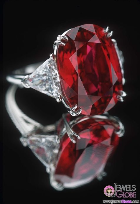carmen lucia real ruby engagement rings