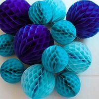 5 шт. 6 дюймов (15 см) папиросной бумаги соты мяч украшения для День рождения Baby Shower свадебной годовщины дома Декор