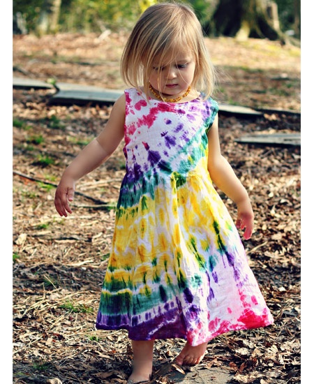 Messy Me Tie-Dye Toddler Dress #cute  Ava needs this