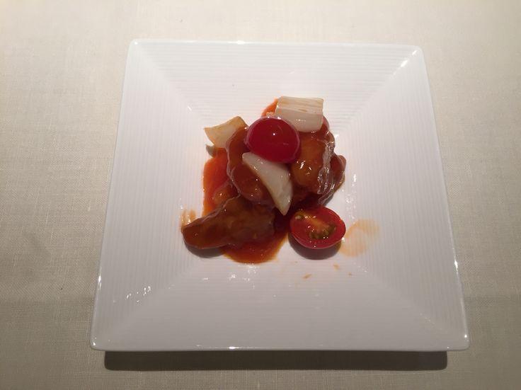 酢豚@帝国ホテル北京
