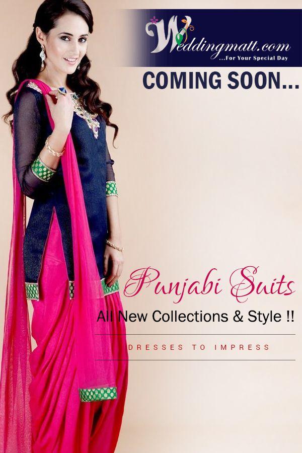 Punjabi Suits All New Collection & Style!! #WeddingMatt #WeddingCollection #DesignerSuits Coming Soon:- http://weddingmatt.com/