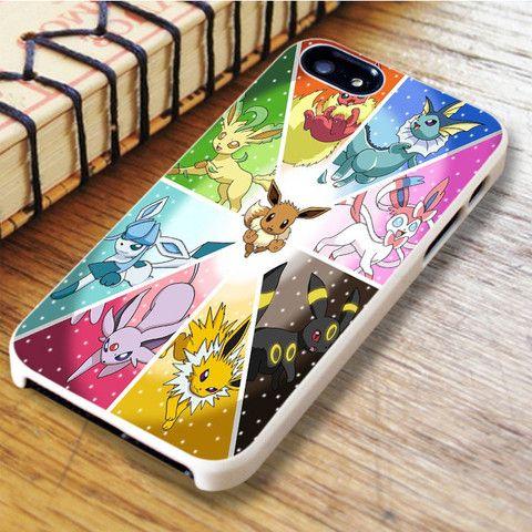 Pokemon Eeveelution iPhone SE Case