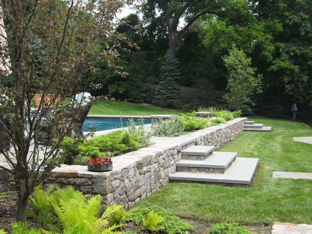 66 best images about inground pools on hill on pinterest for Pool design by laly llc