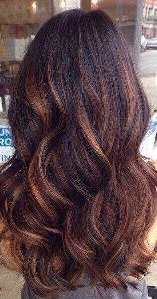 #brown #highlights #sleekpeek #Monat