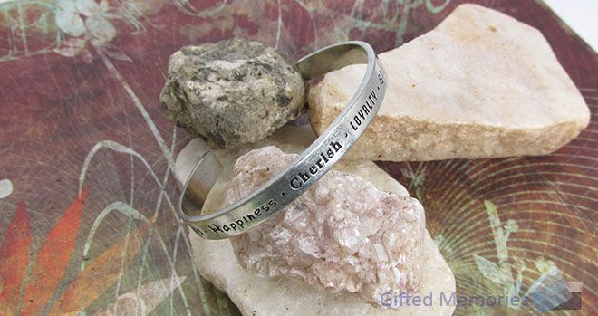 Bracelet Cuff - Friends. Find it at www.giftedmemoriesjewellery.com.au