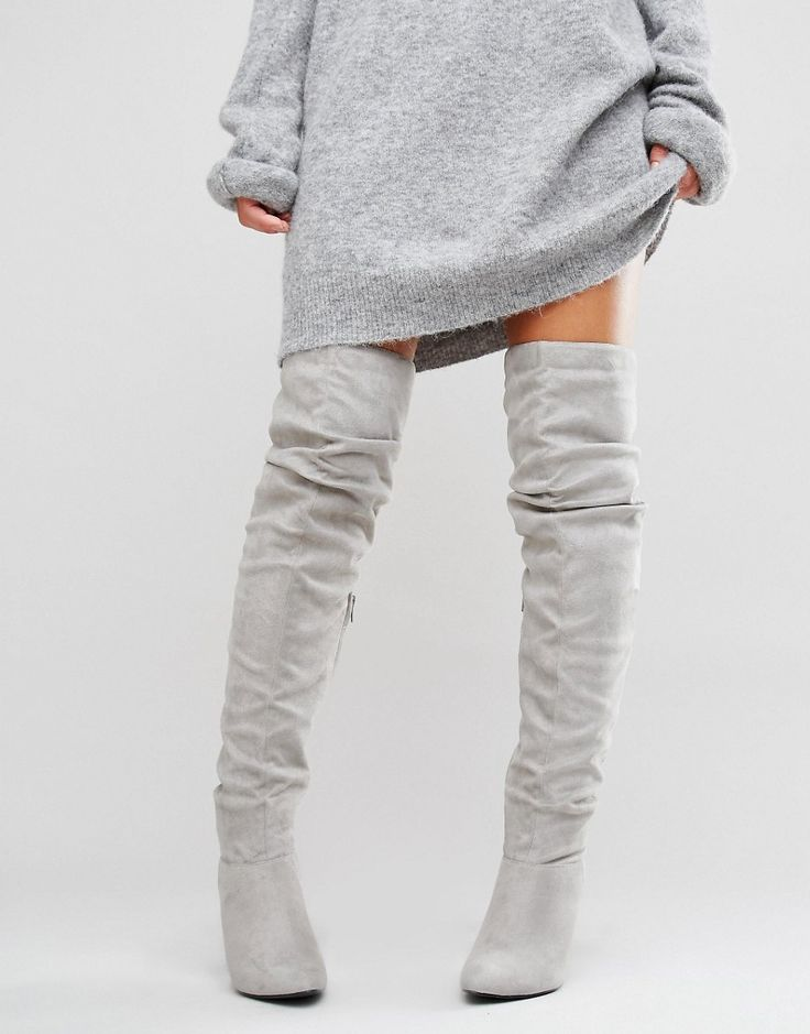 Image 1 of New Look Over The Knee Boots