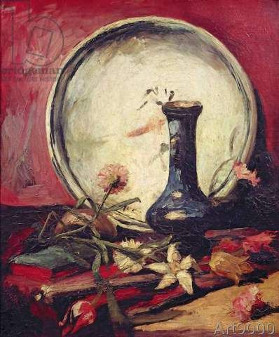 Vincent+van+Gogh+-+Still+Life+with+Flowers,+c.1886