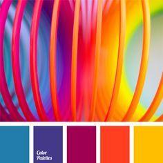 vivid color scheme