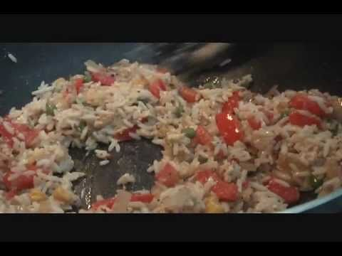 Easy egg fried rice recipe : Indian Food recipe