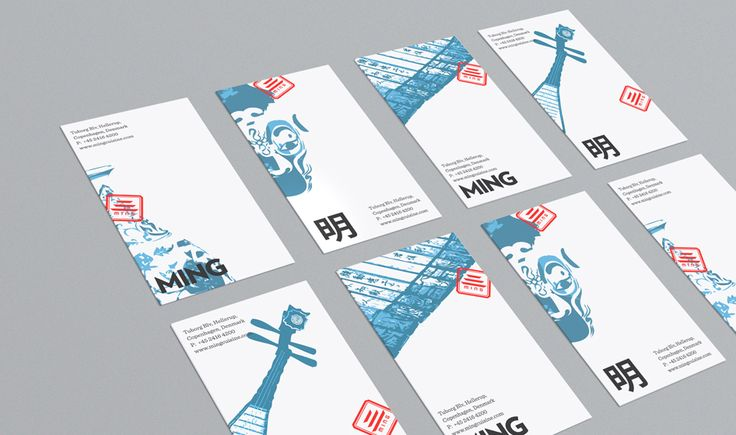 Giang Ngyuen - Identity for Ming, a new Chinese restaurant