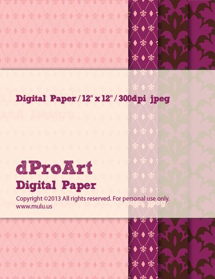 Baroque 04 Digital Paper by dProArt at mulu.us