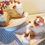 Maple Bacon Cheesecake with Peppered Maple Bacon