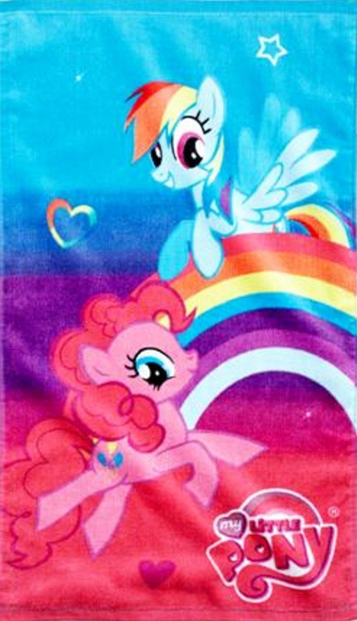 Soft And Absorbent My Little Pony Hand Towel Bathroomtowels