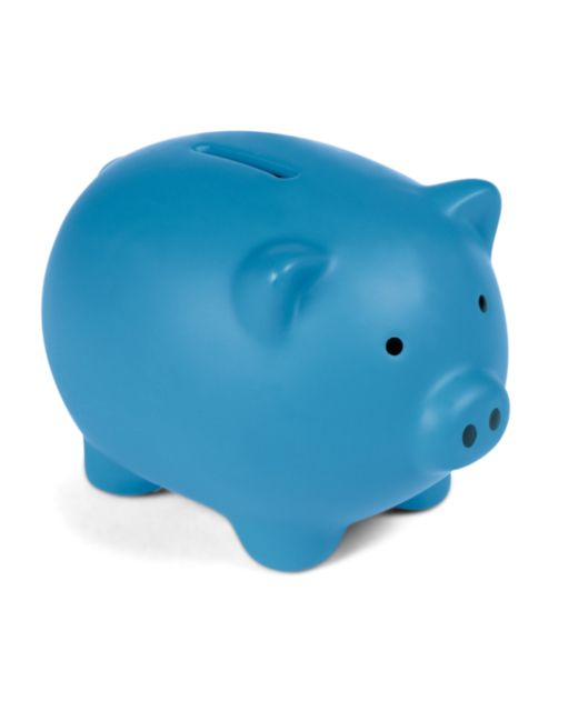 Patternology - Piggy Bank - Blue
