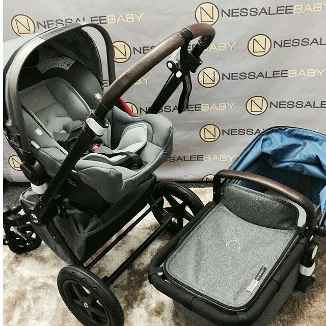 Bugaboo Cameleon 3 Blend with Graphite Nuna Pipa