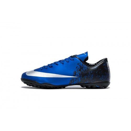 47d122e274d2d Migliore Nike Mercurial Vapor X TF Blu Nero Scarpe Da Calcio