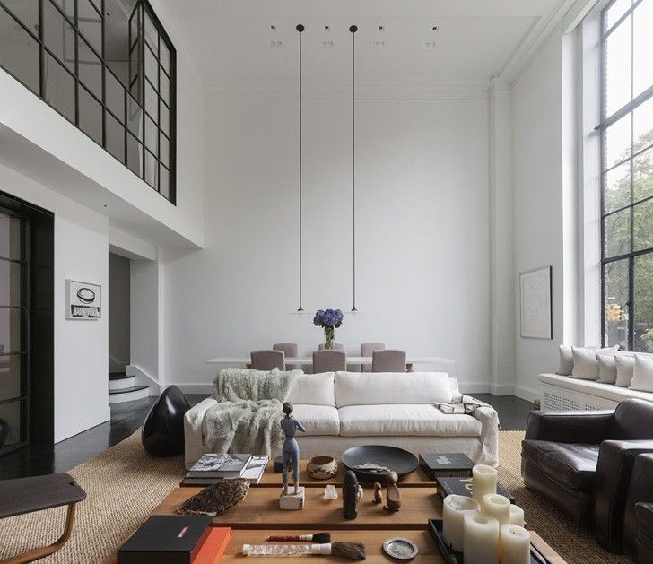 Великолепные современные апартаменты в Нью-Йорке