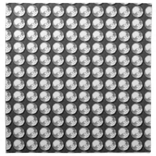 NVN1 Sparkle Black n White BNW Gems by NavinJOSHI Napkins