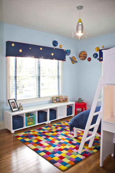 Autumn Rae Interior Design   Boyu0027s Outer Space Themed Bedroom   Beetling 3D  Planets Www.