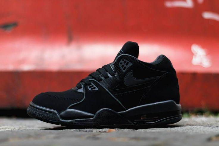 Nike Air Flight 89 Triple Black Anthracite