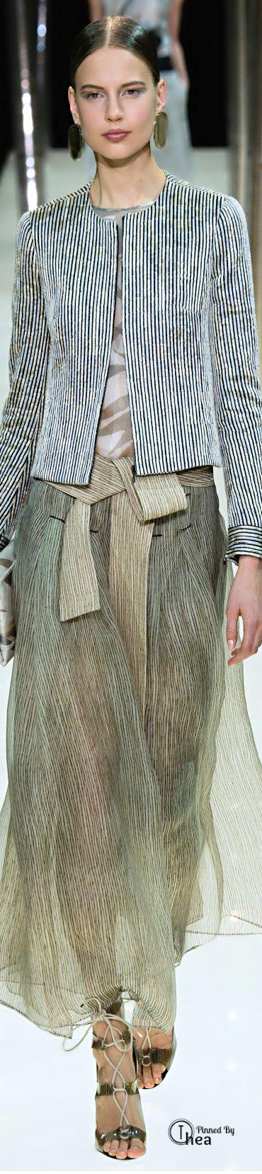 Giorgio Armani Privé Haute Couture ● SS 2015 ~ Ⓣнεα