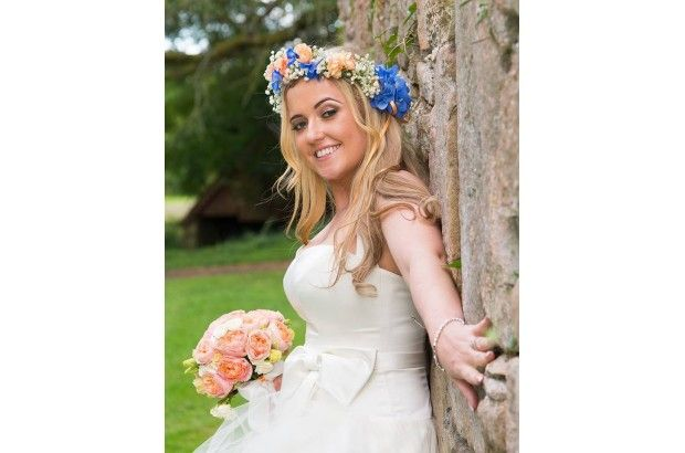 One of gorgeous brides! www.empowerstudio.ie #makeup #bride #wedding #beauty