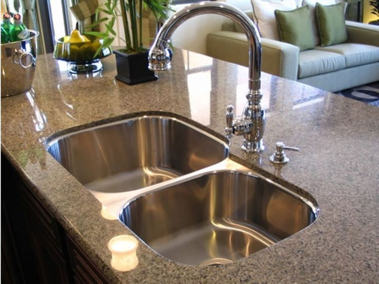 Kitchen: Contemporary Undermount Kitchen Sinks Edmonton Also Enamel  Undermount Kitchen Sink From Why The Stainless