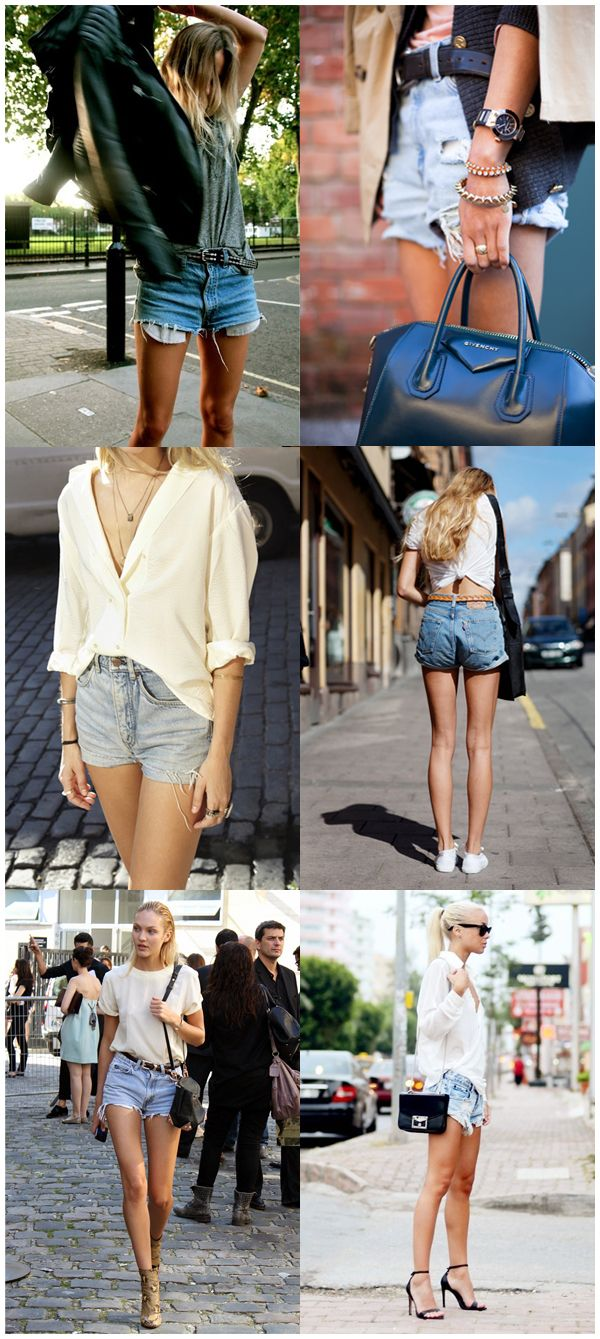 Streetstyle Levi 501 Cut-Off Shorts