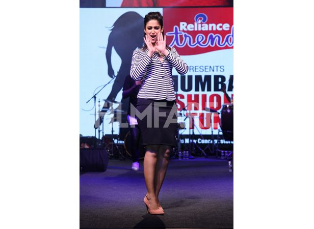 """We just spotted Ileana """"Cruze-ing"""" in our Page 3 heels at a recent @reliancetrends store opening event and we love it! http://www.intoto.in/page-3-24"""