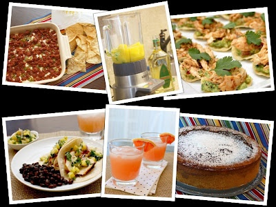 Seis Recipes for Cinco de Mayo from Kelsey's Apple a Day