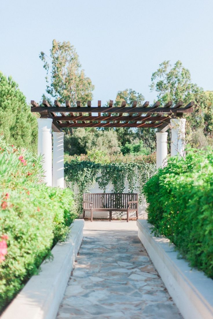 The gardens of the Anassa Hotel in Cyprus.