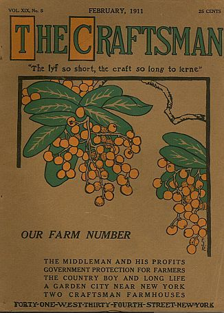 The craftsman was a magazine founded by gustav stickley for Arts and crafts home magazine