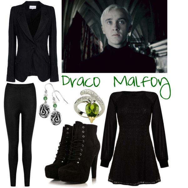 """Harry Potter: Draco Malfoy"" by cristianoronaldostar on Polyvore"
