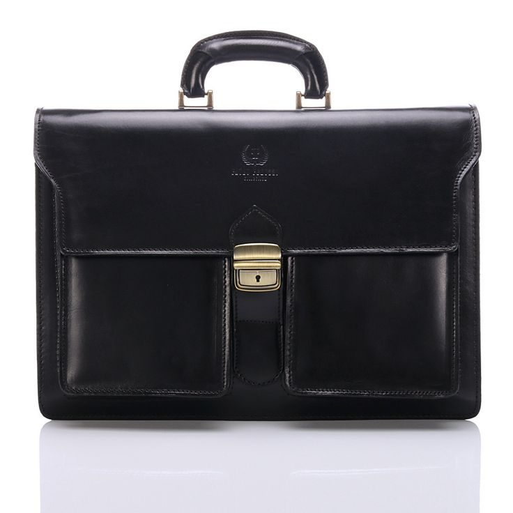 Most popular Italian Leather briefcase #blackbriefcase