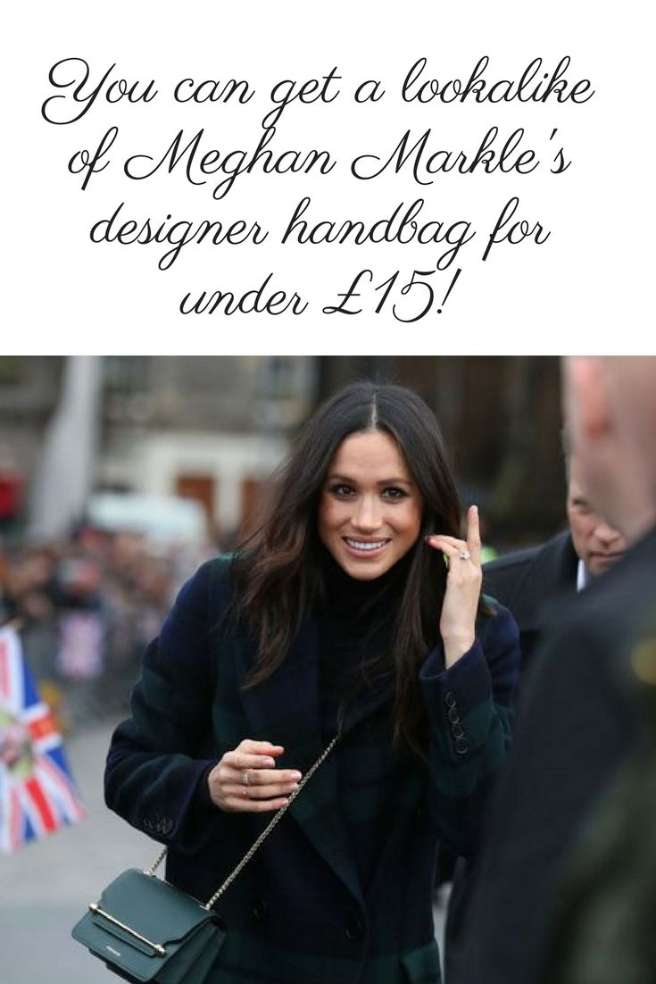 Steal Meghan Markle's style for less with this bargain bag! #meghanmarkle #handbags