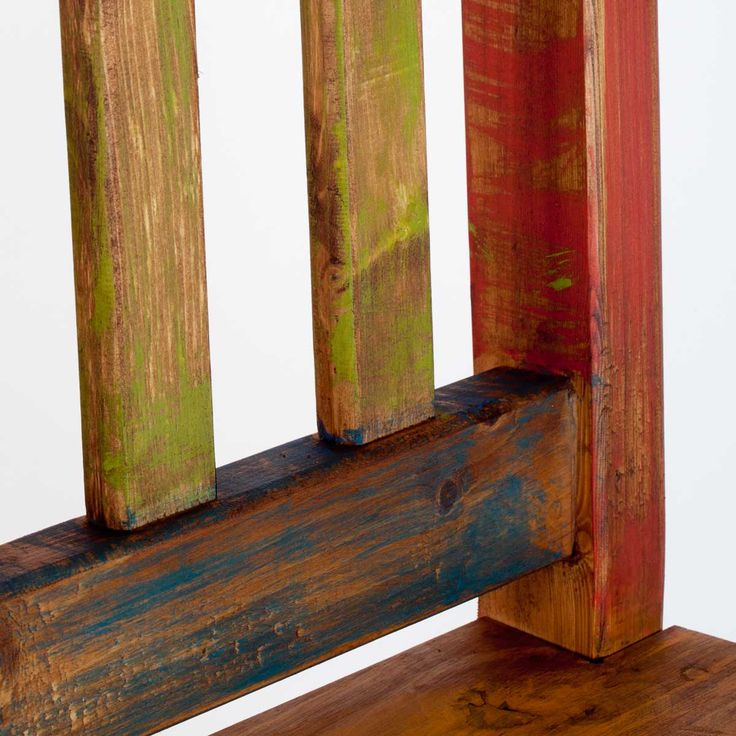 painted mexican furniture | Home › Rustic Mexican Furniture › Chairs  Bar Stools › Multi ...